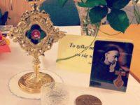 Towarzyszyły nam relikwie św.Rafała